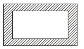 A path of uniform width runs round the inside of a rectangular